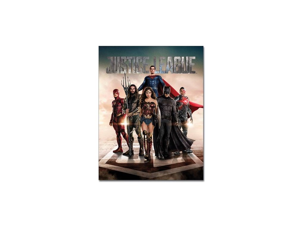 Plechová Ceduľa Justice League