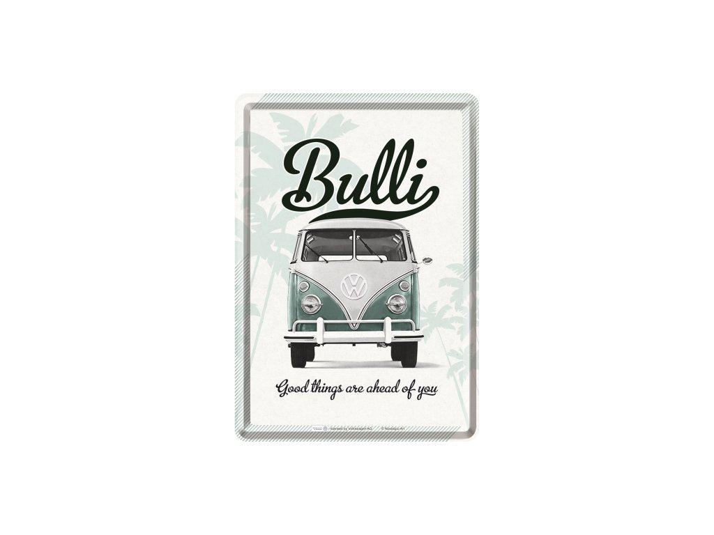 Plechová Pohľadnica VW Bulli Good Things