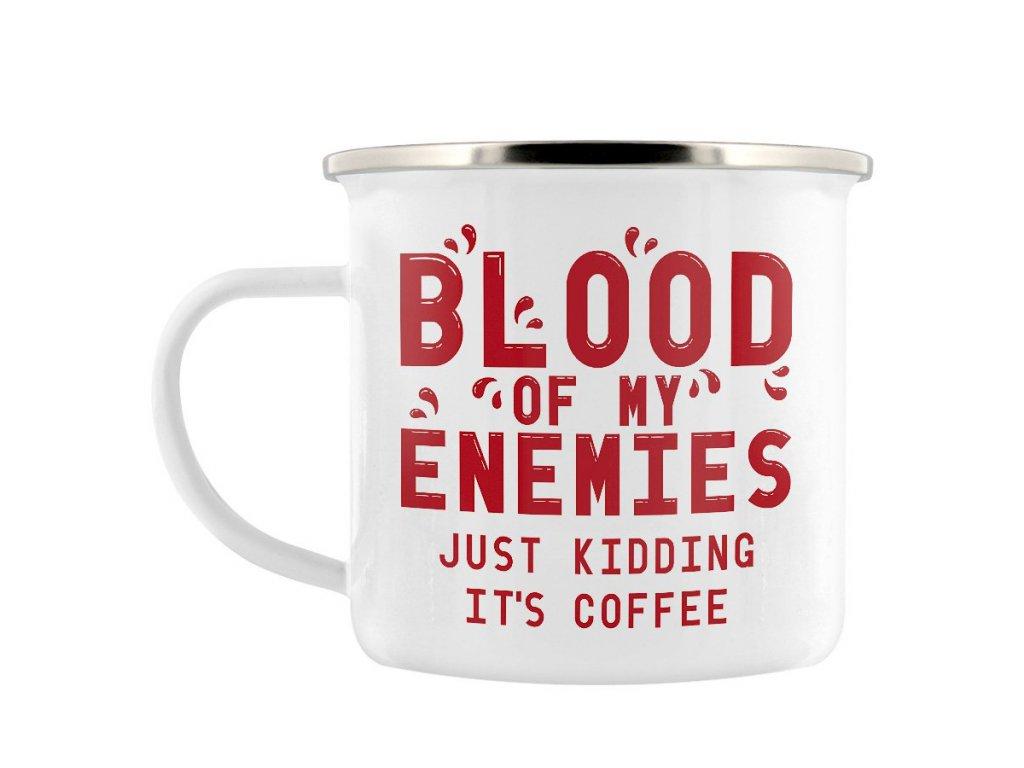 Plechový Hrnček Blood Of My Enemies
