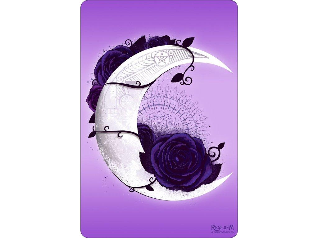 Plechová Ceduľka Lunar Mandala