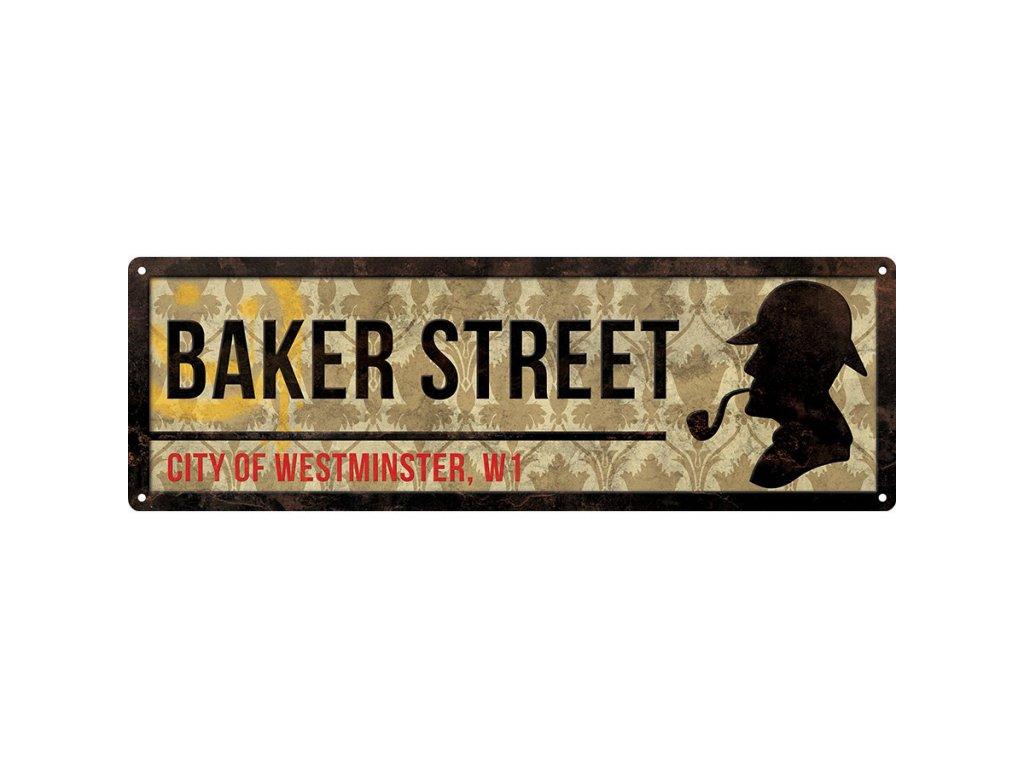 Plechová Ceduľa Baker Street