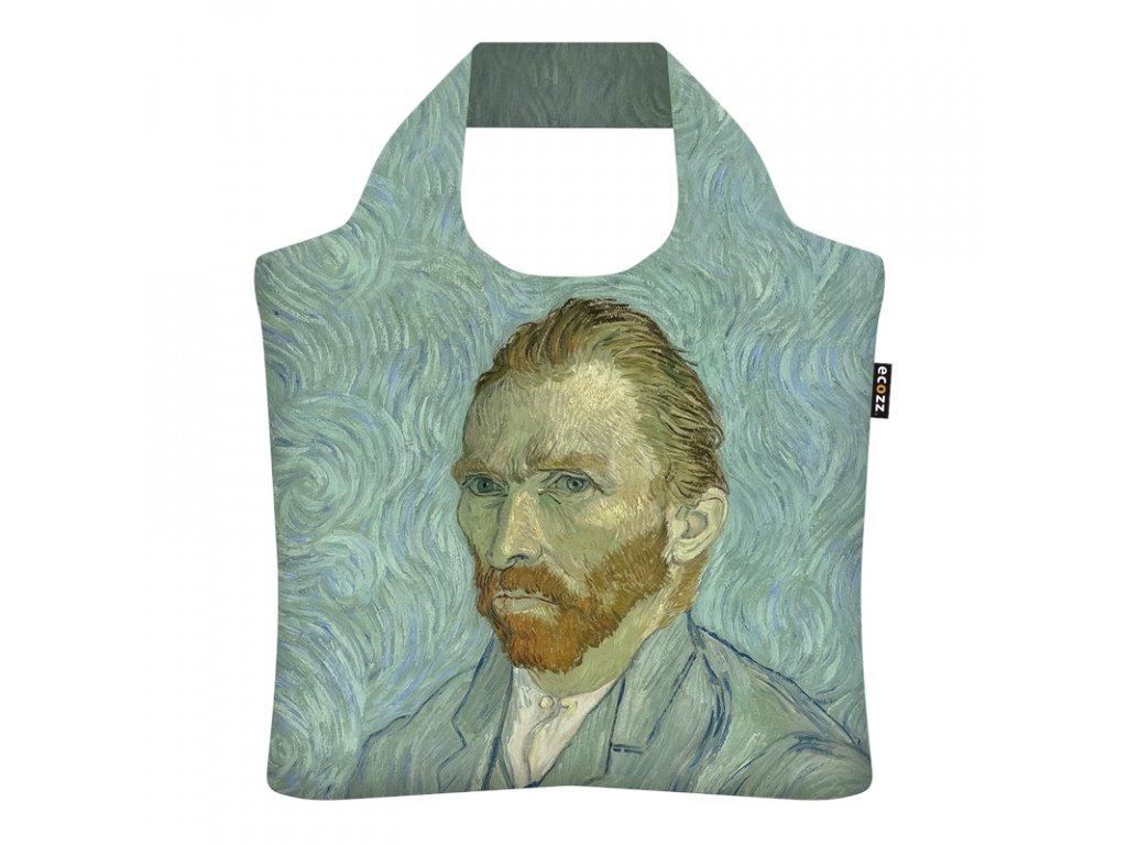 Skladacia eko taška Ecozz - Vincent van Gogh Self Portrait, September 1889
