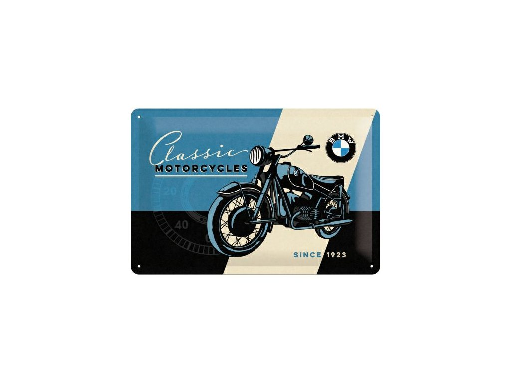 Plechová ceduľa BMW Motorcycles