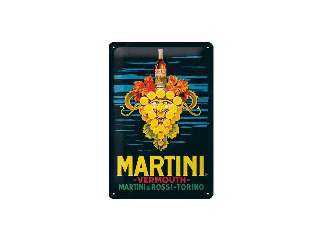 Plechová Ceduľa Martini Vermouth