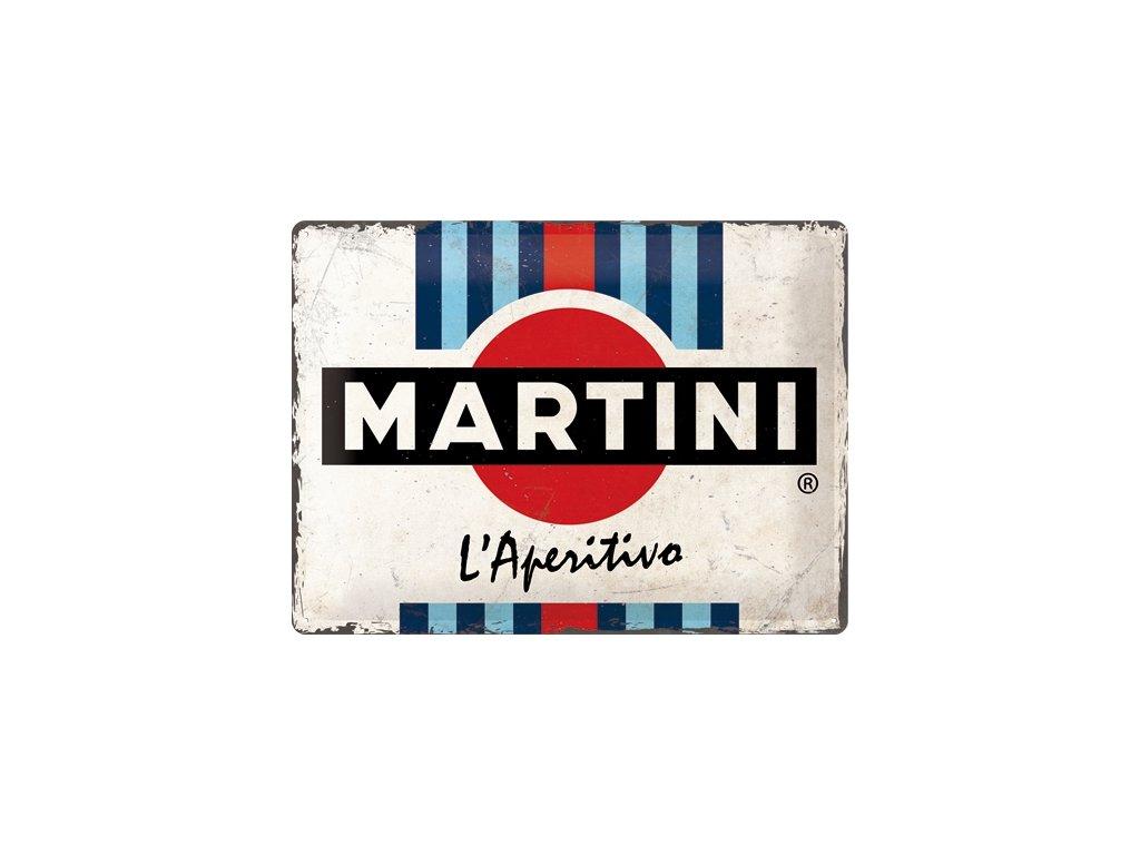 Plechová Ceduľa Martini Martini L'Aperitivo