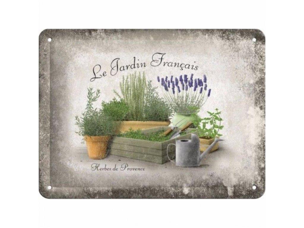 Plechová Ceduľa Herbes de Provence