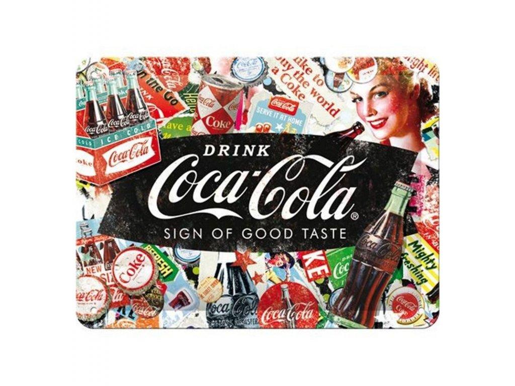 Plechová Ceduľa Coca-Cola Good Taste