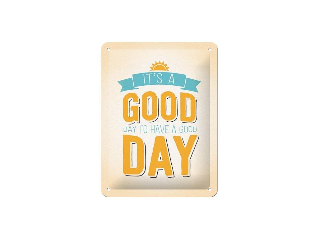 Plechová Ceduľa Good Day