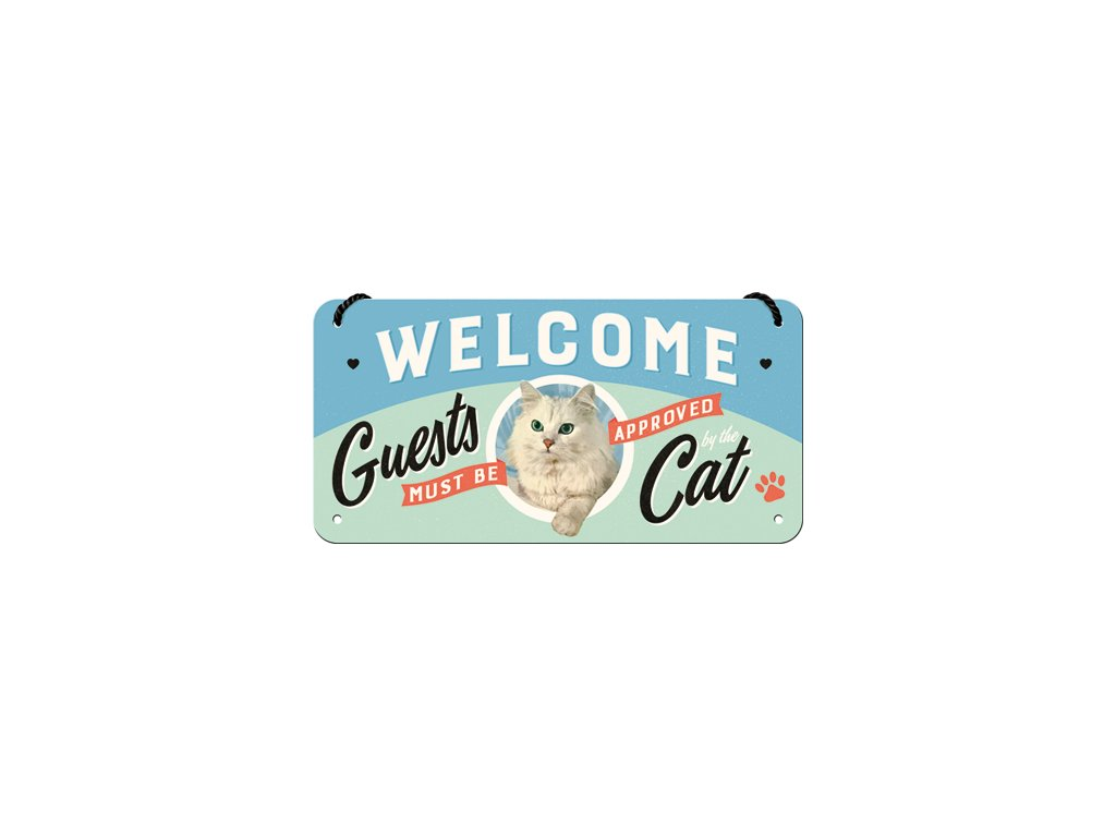 Welcome Guests Cat