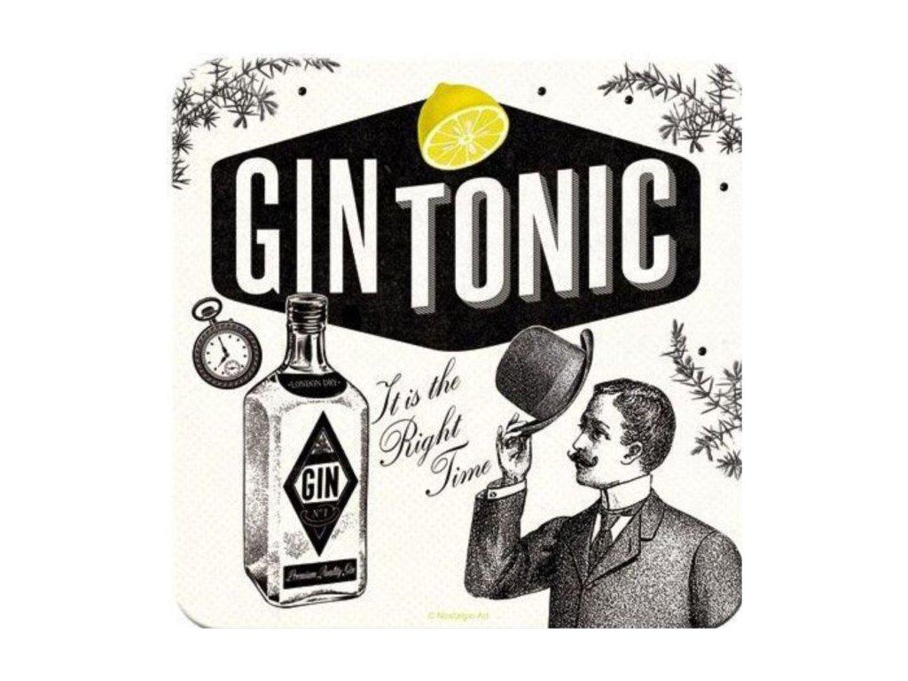 Plechové Podtácky Gin Tonic
