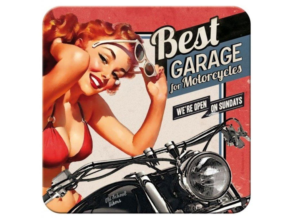 Plechové Podtácky Best Garage for Motorcycles