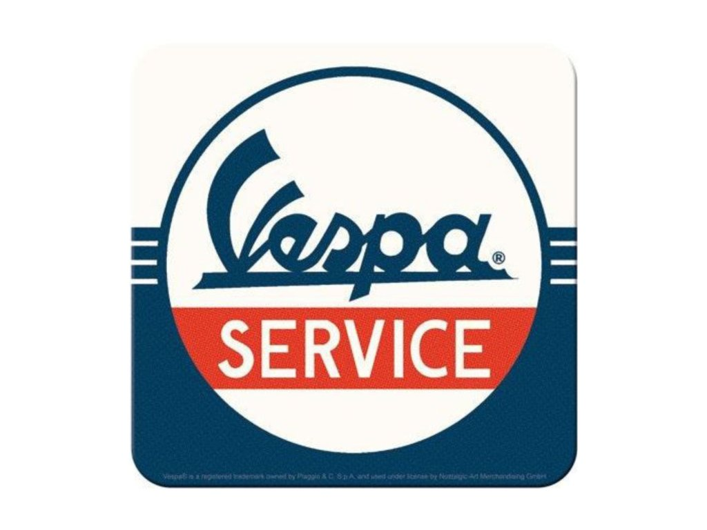 Plechové Podtácky Vespa Service