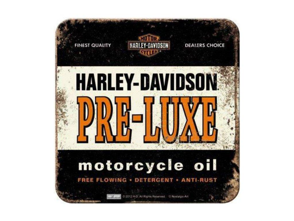 Plechové Podtácky Harley-Davidson Pre-Luxe