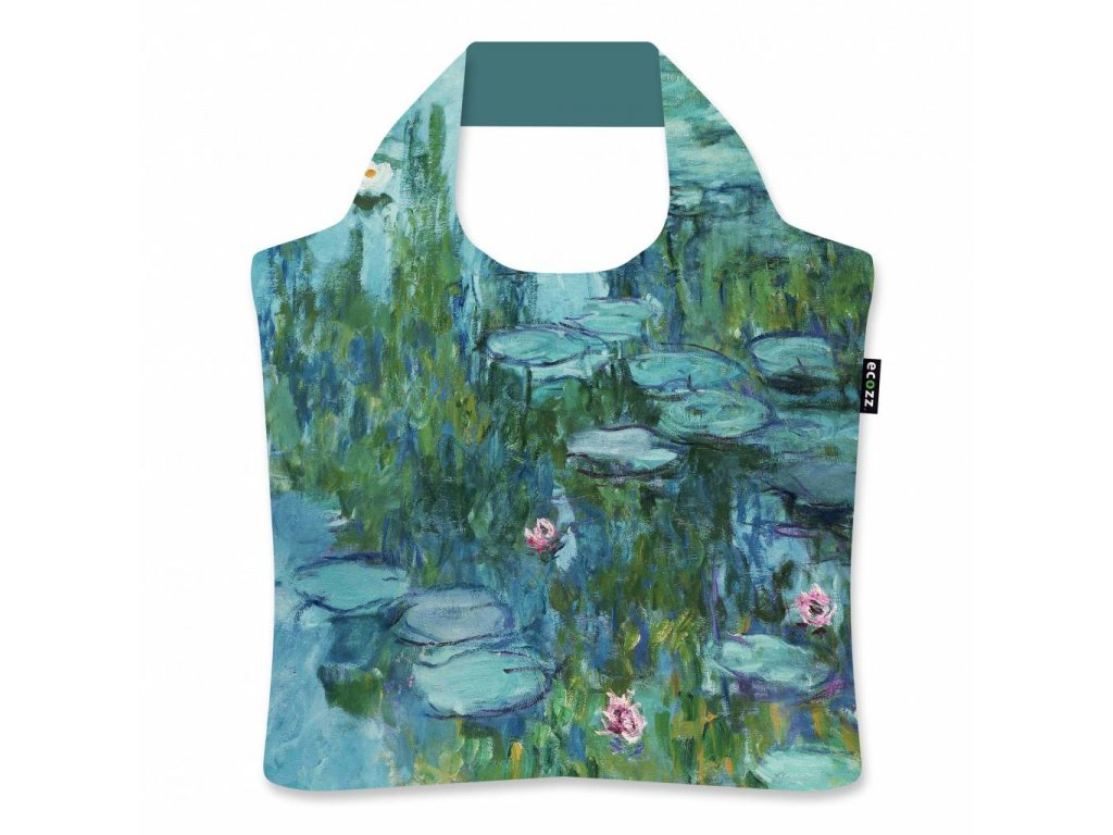 ecozz water lilies by claude monet