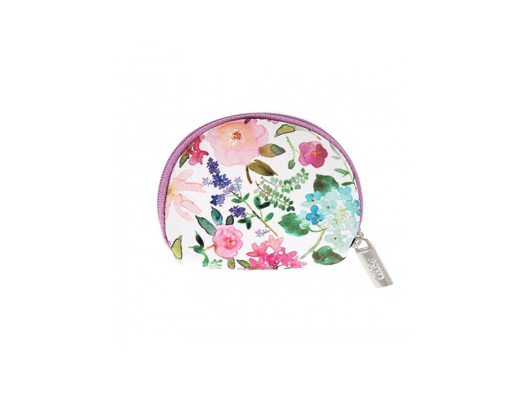 Mini peňaženka - Hortenzia