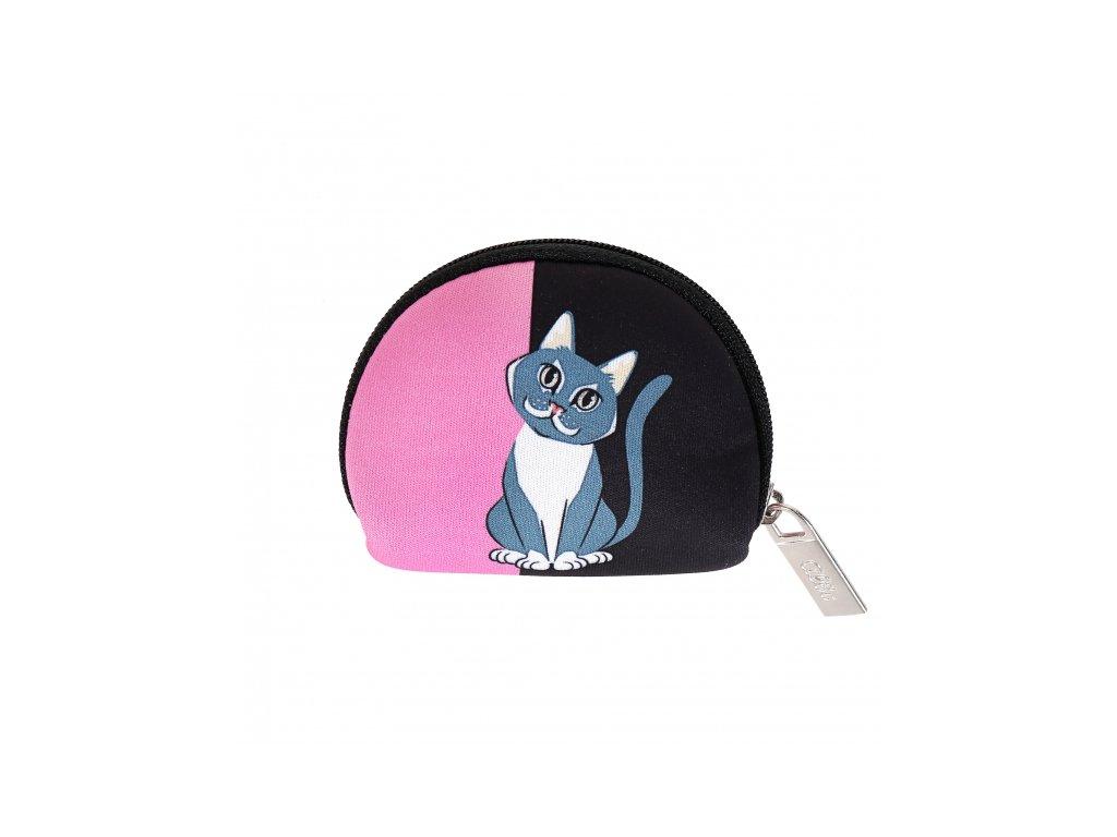 Mini peňaženka - Mačka