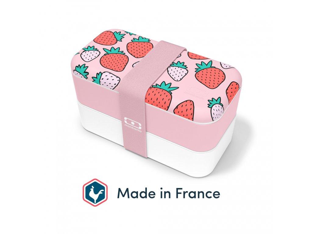Lunch Box Monbento Original - Strawberry