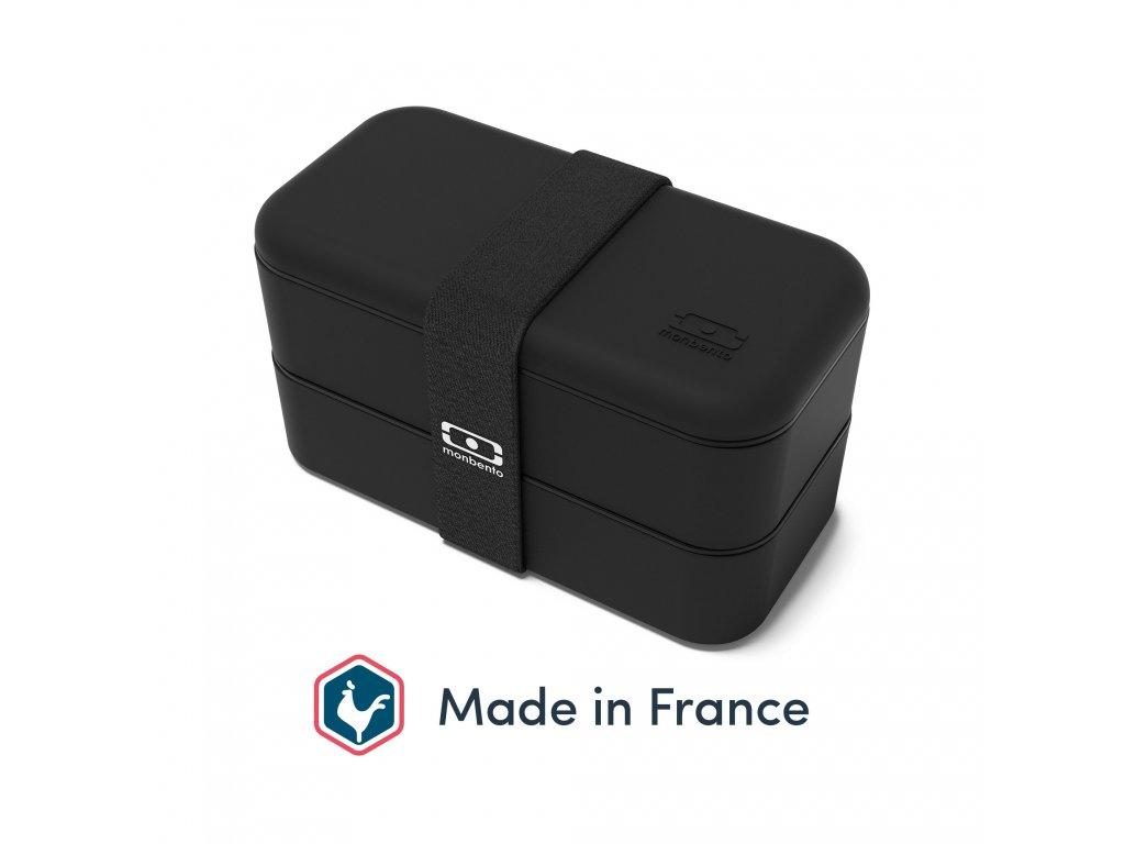 Lunch Box Monbento Original - Black Onyx