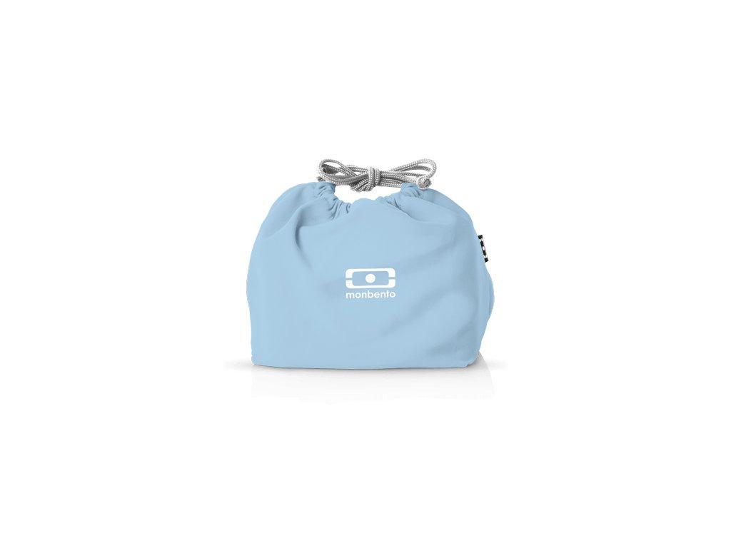Taška Pre Desiatový Box Monbento Pochette - Blue Crystal