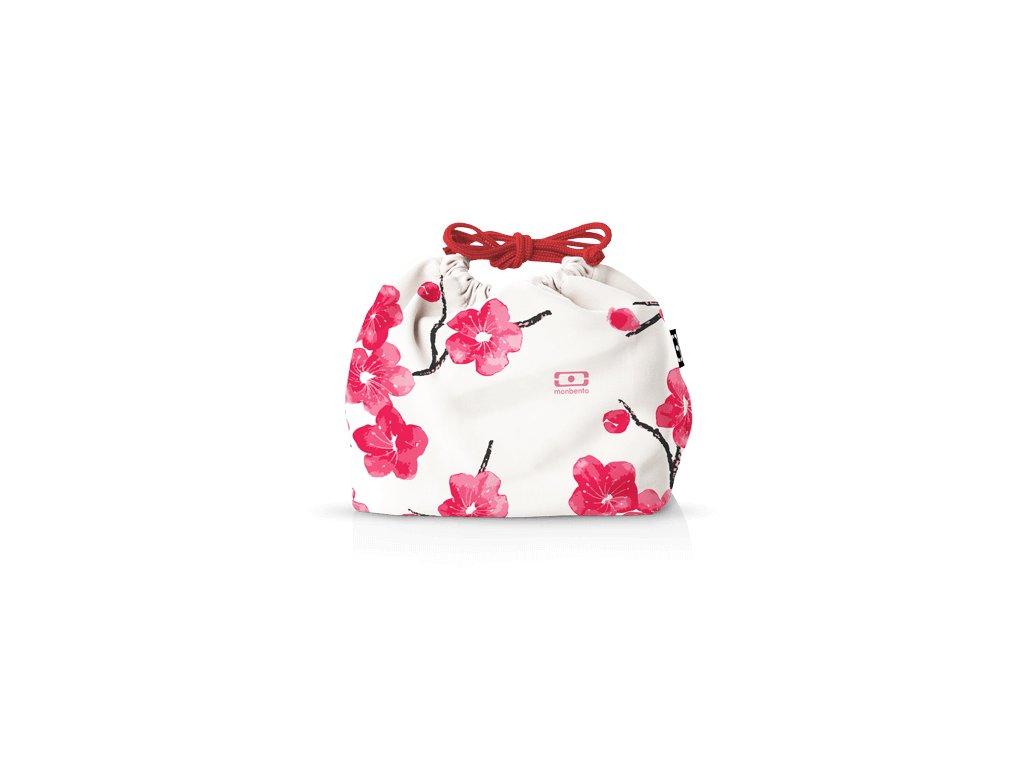 Taška Pre Desiatový Box Monbento Pochette - Blossom