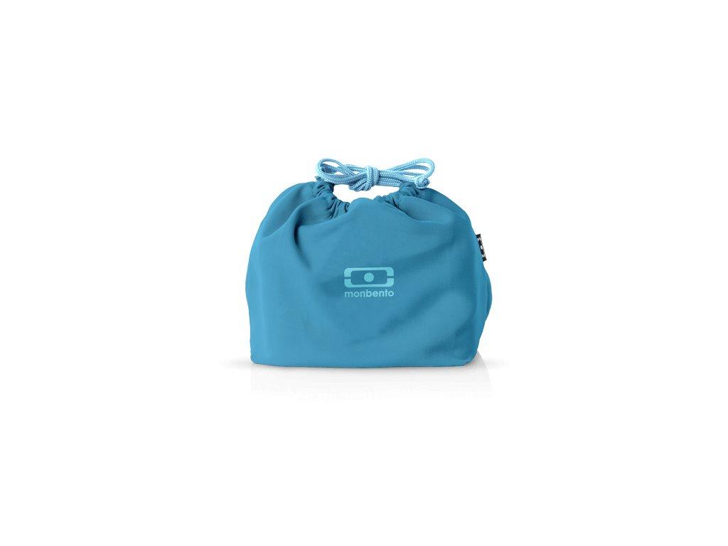 Taška Pre Desiatový Box Monbento Pochette - Blue Denim