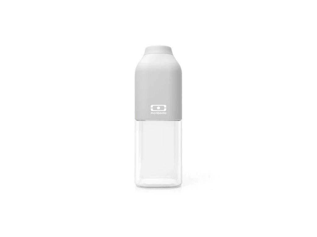 Fľaša Monbento Positive M - Grey Coton 1