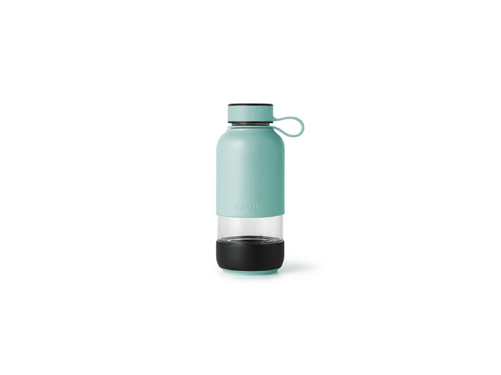 Sklenená Fľaša Lékué - Tyrkysová