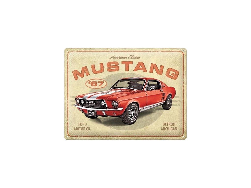 Plechová Ceduľa Ford Mustang