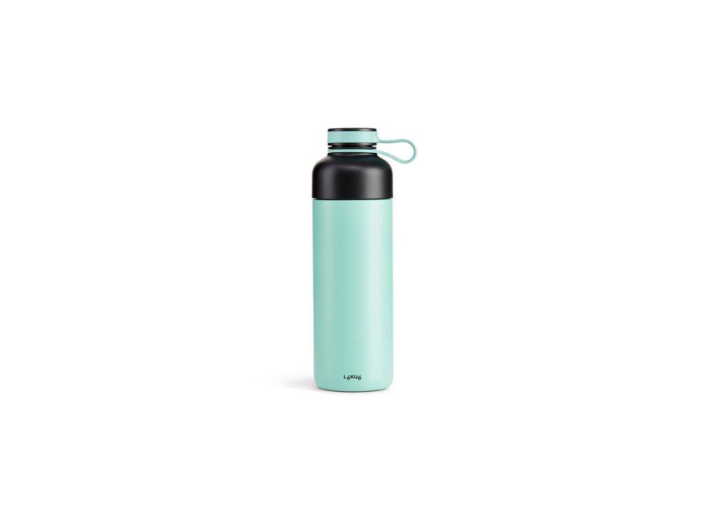 Termo Fľaša Lékué Insulated Bottle To Go - Tyrkysová