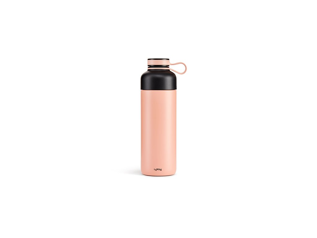 Termo Fľaša Lékué Insulated Bottle To Go - Lososová