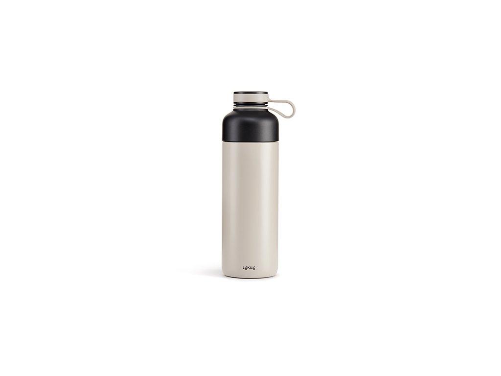 Termo Fľaša Lékué Insulated Bottle To Go - Šedá