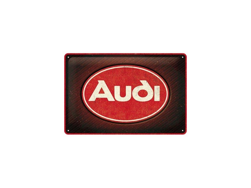 Plechová Ceduľa Audi