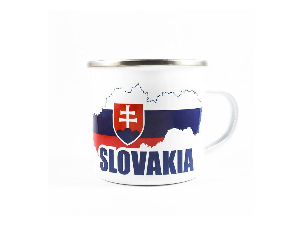 Plechový Hrnček Slovakia - Mapa