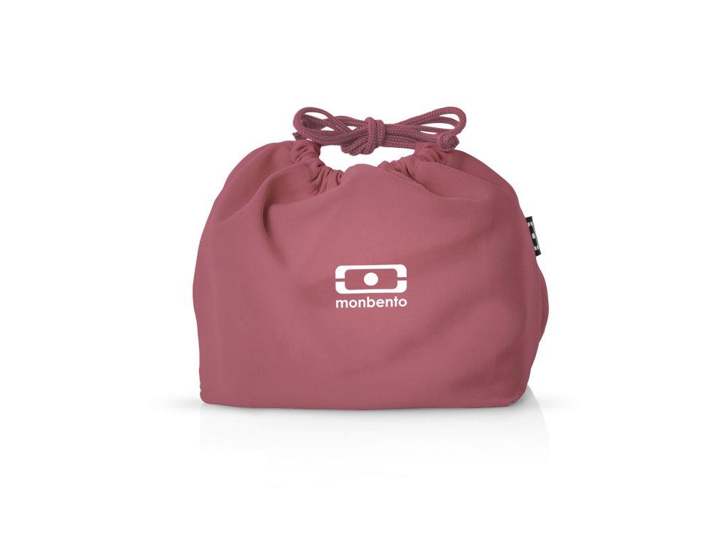 Taška Pre Desiatový Box Monbento Pochette - Pink Blush