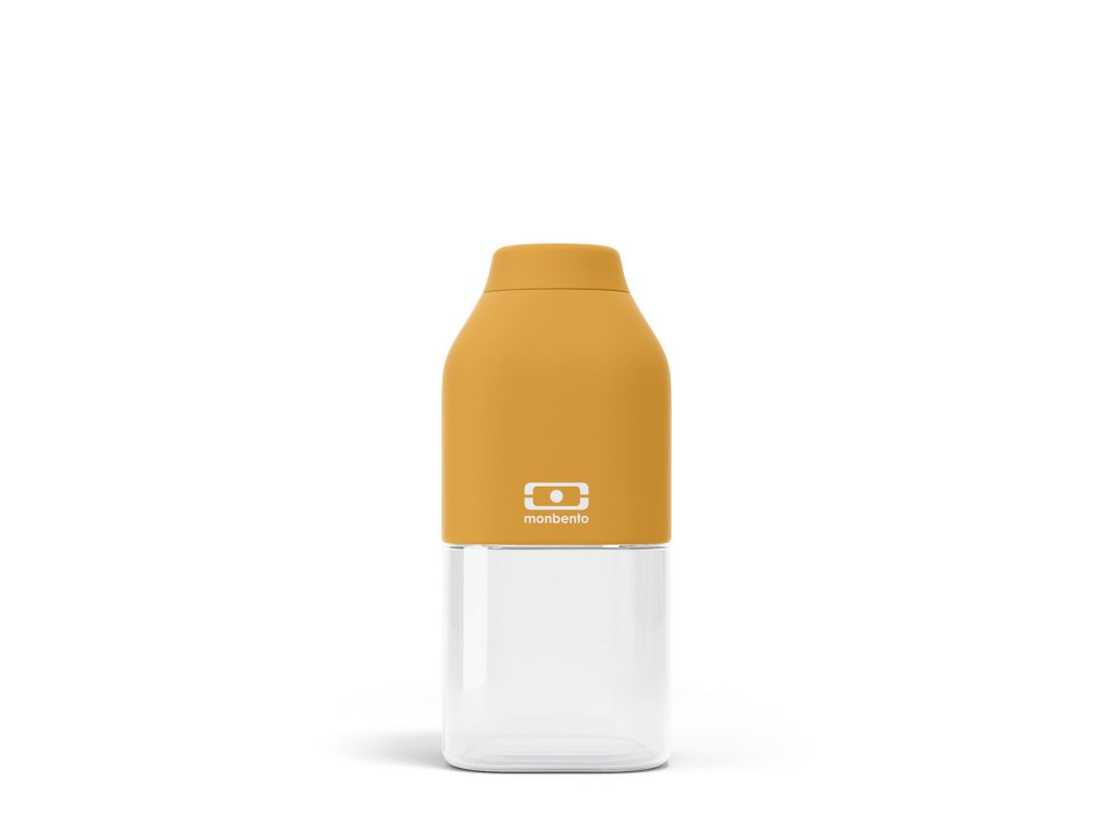 Fľaša Monbento Positive S - Yellow Moutarde