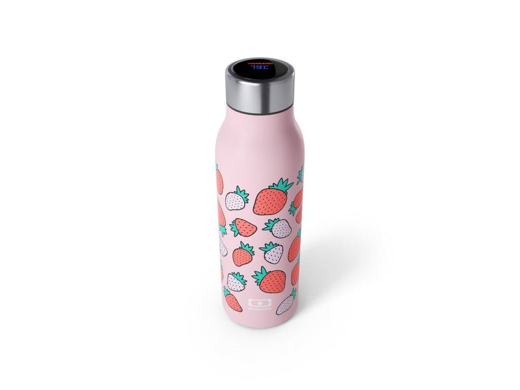 Chytrá Termo Fľaša Monbento Genius Strawberry