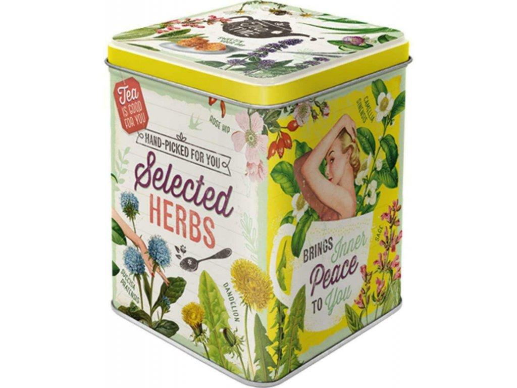 Dóza Na Čaj - Selected Herbs