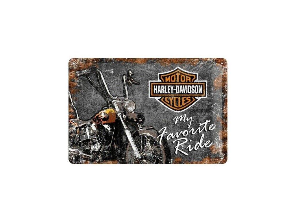 Plechová Ceduľa Harley-Davidson My Favorite Ride
