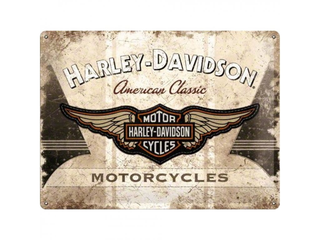 Plechová Ceduľa Harley-Davidson American Classic Logo