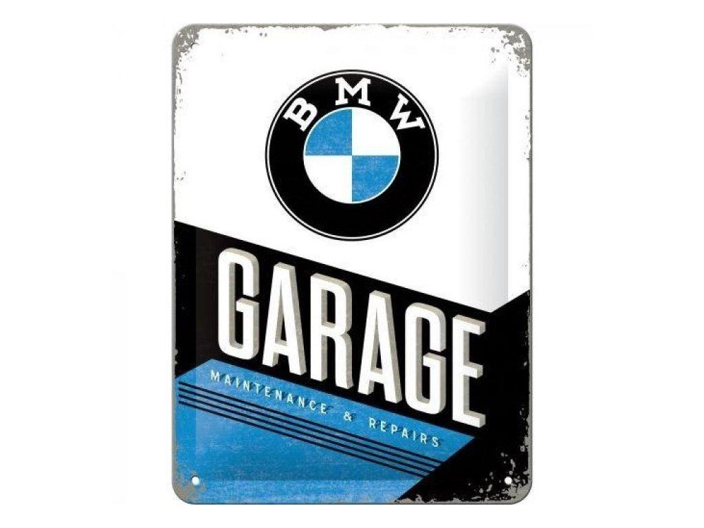 Plechová Ceduľa BMW Garage
