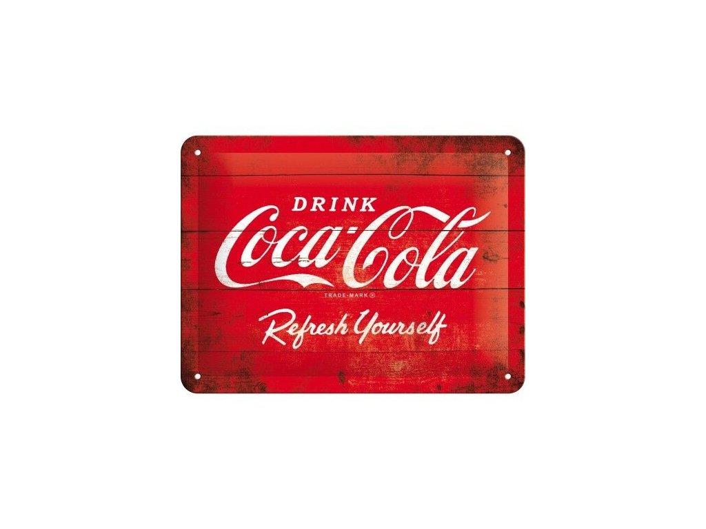 Plechová Ceduľa Coca-Cola Logo