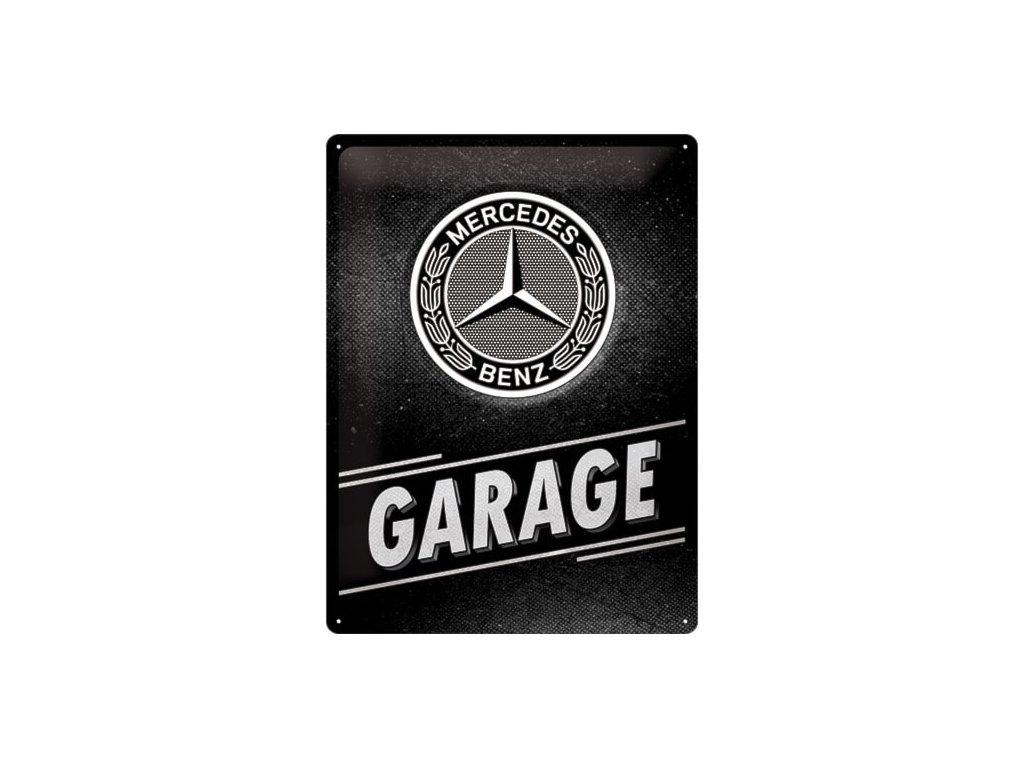 Plechová Ceduľa Mercedes-Benz Garage