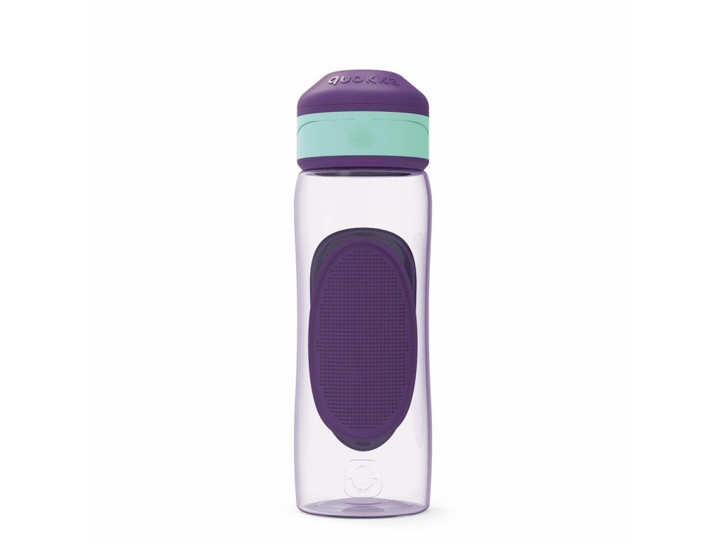 Športová Fľaša Quokka Splash - Aqua Violet 730 ml