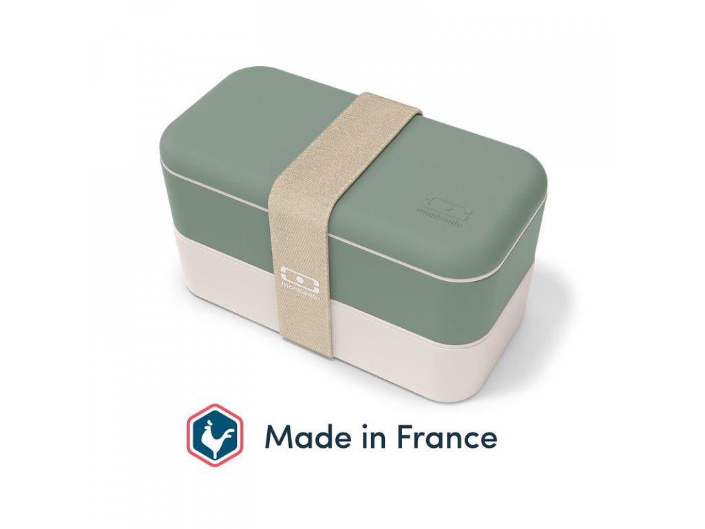 Lunch Box Monbento Original - Natural Green