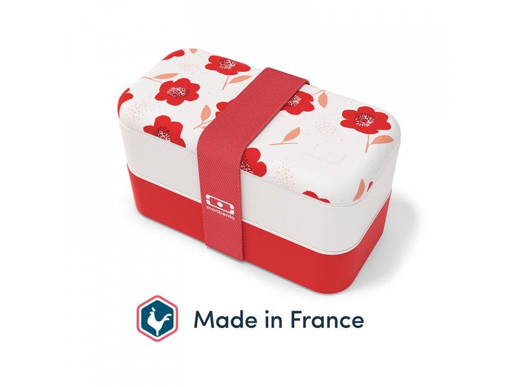 Lunch Box Monbento Original - Poppy