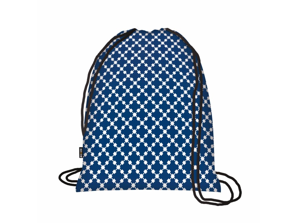 Ecozz Backpack - Squares Blue