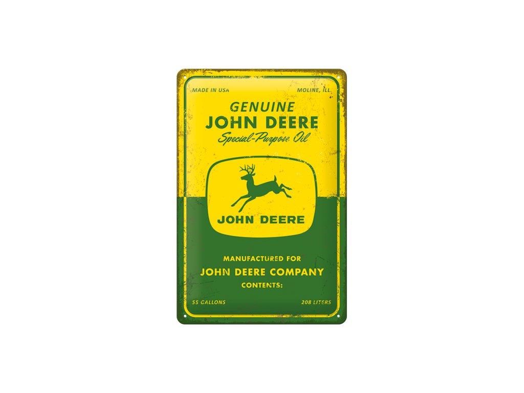 Plechová Ceduľa John Deere Special Purpose Oil