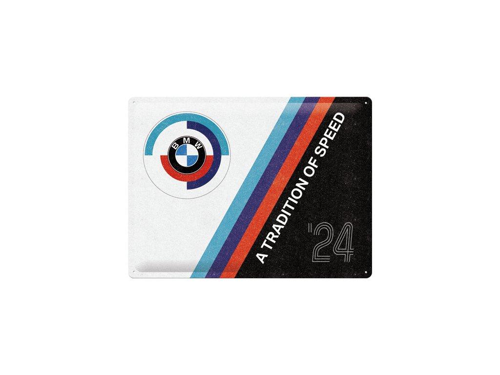 Plechová Ceduľa BMW Motorsport Tradition Of Speed
