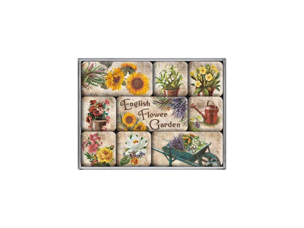 Sada Magnetiek - English Flower Garden