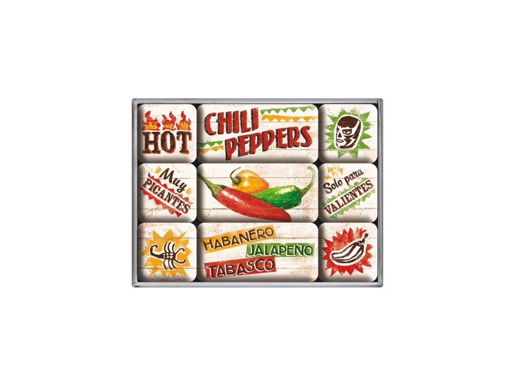 Sada Magnetiek - Chili Peppers